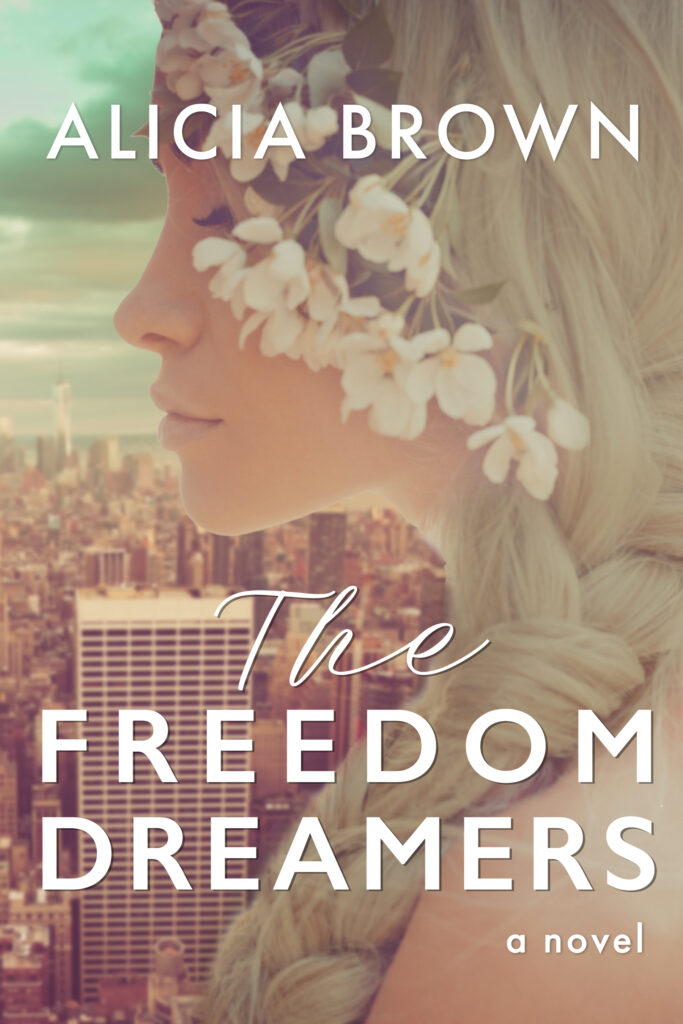 Freedom Dreamers novel front cover